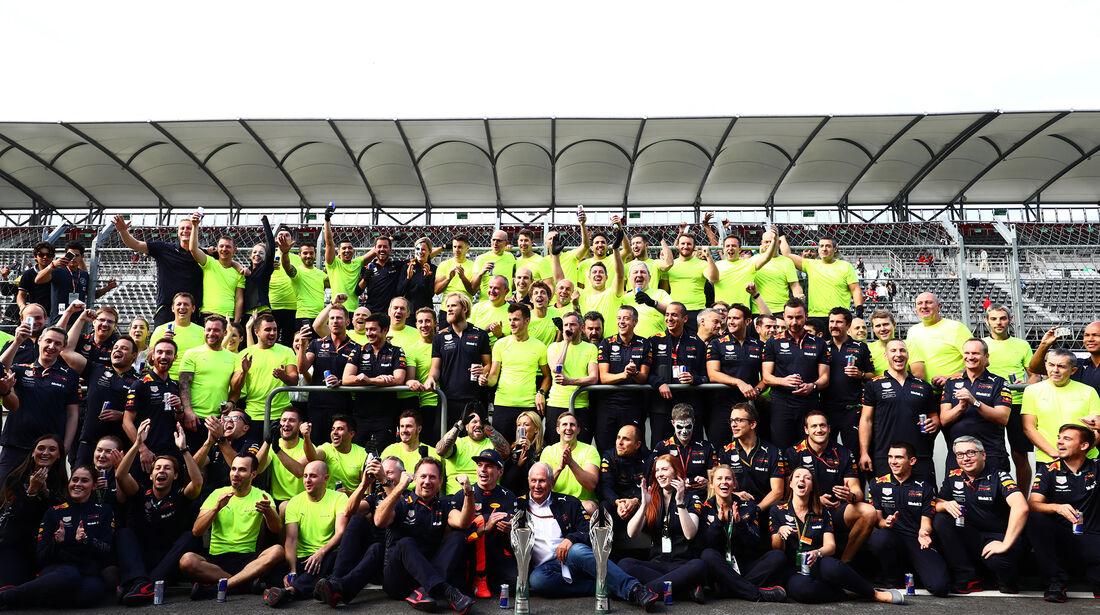 Red Bull - Formel 1 - GP Mexiko 2018