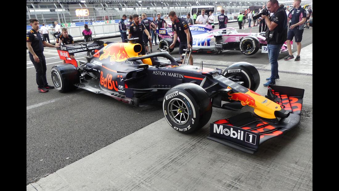 Red Bull - Formel 1 - GP Mexiko - 24. Oktober 2019