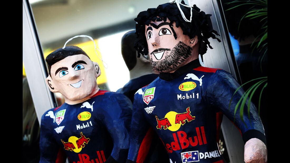 Red Bull - Formel 1 - GP Mexiko - 25. Oktober 2018