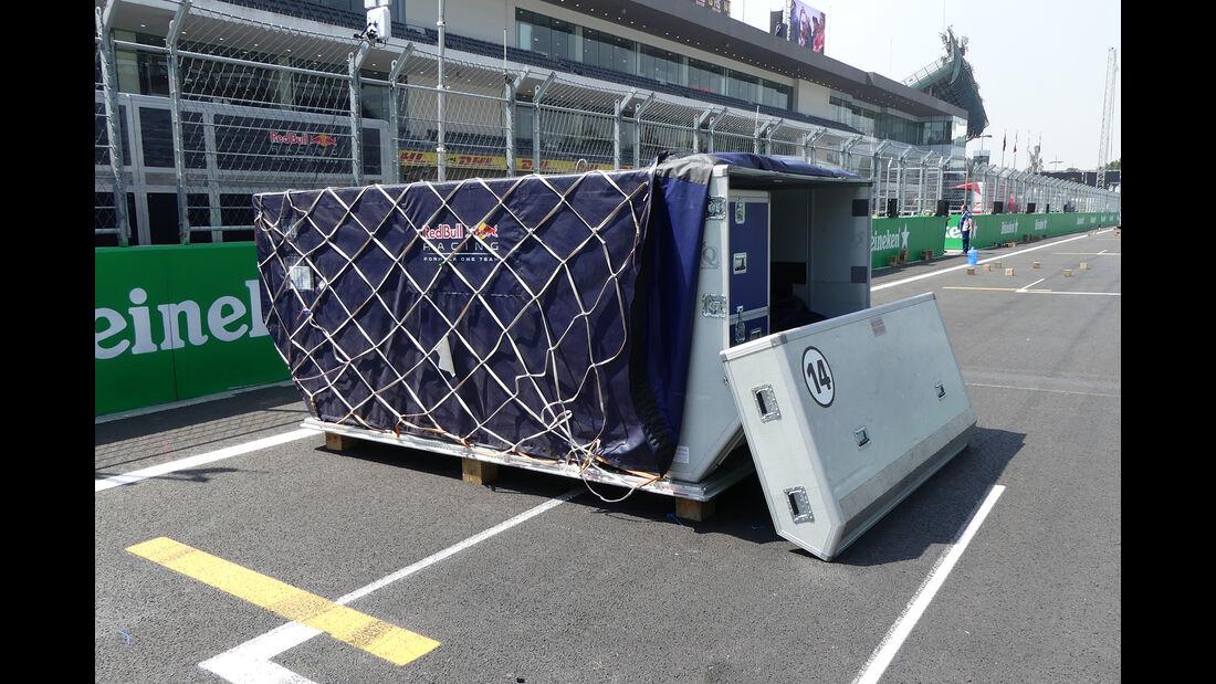Red Bull - Formel 1 - GP Mexiko - 26. Oktober 2016
