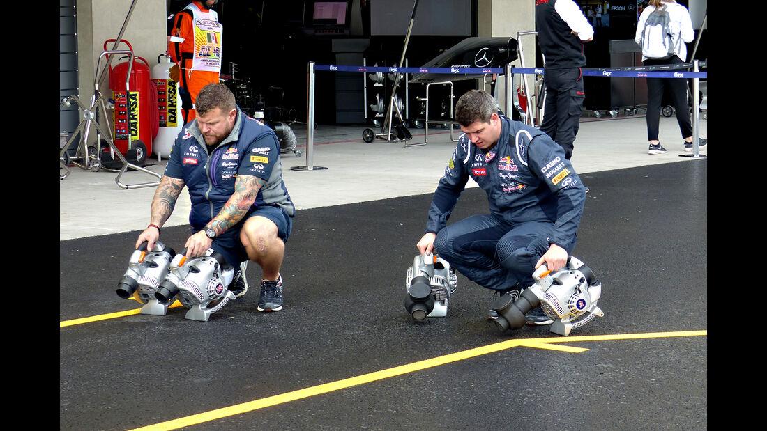 Red Bull - Formel 1 - GP Mexiko - 30. Oktober 2015