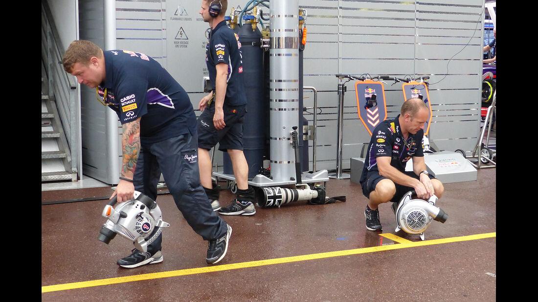 Red Bull - Formel 1 - GP Monaco - 22. Mai 2014