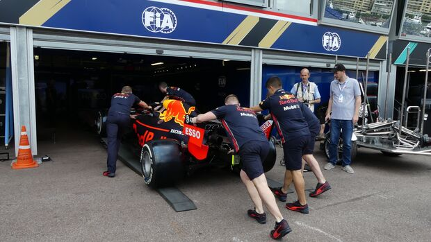Red Bull - Formel 1 - GP Monaco - 22. Mai 2019