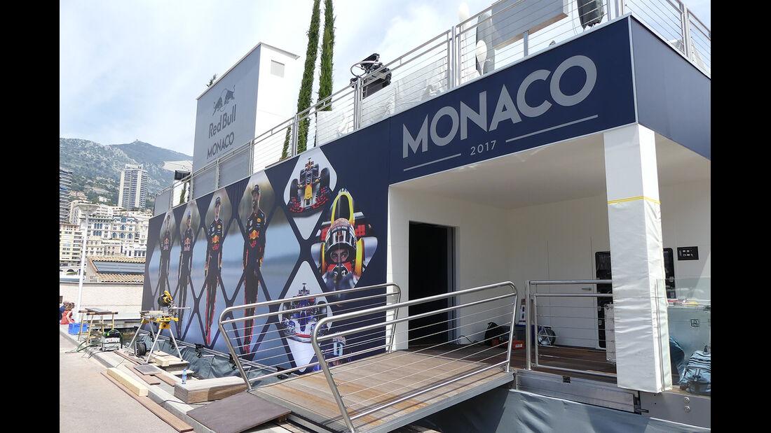 Red Bull - Formel 1 - GP Monaco - 23. Mai 2017