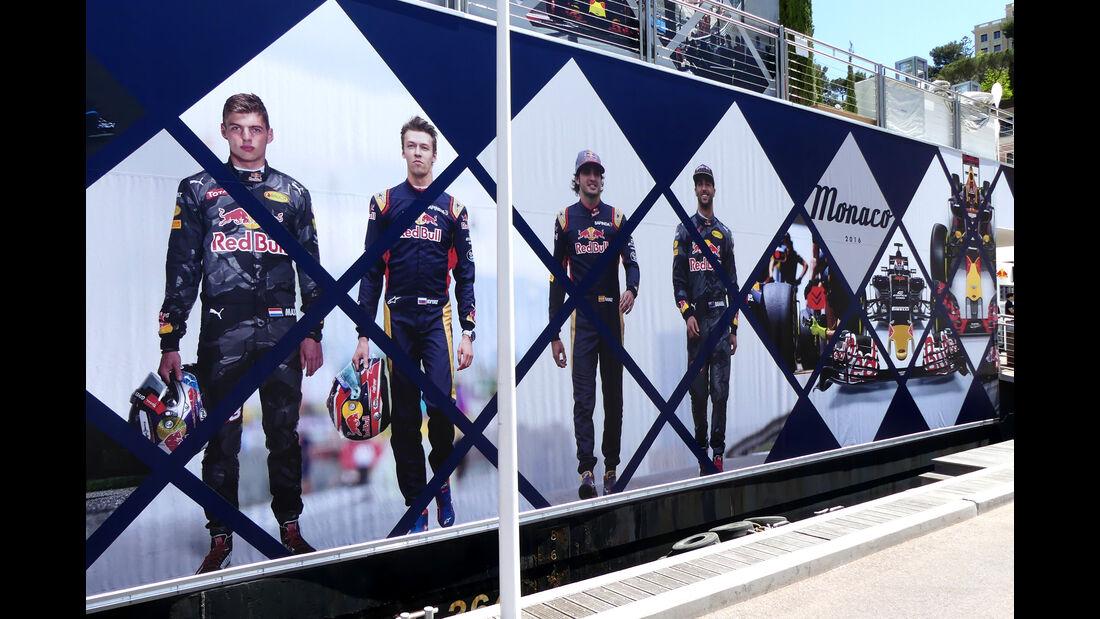 Red Bull - Formel 1 - GP Monaco - 24. Mai 2016