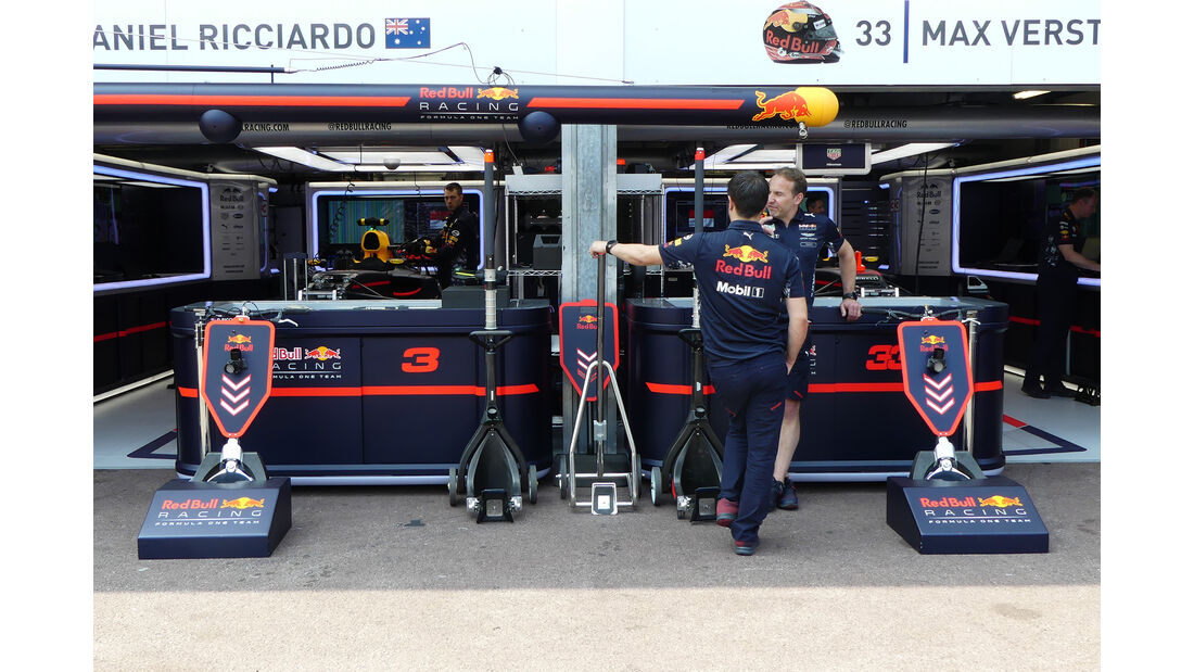 Red Bull - Formel 1 - GP Monaco - 26. Mai 2017