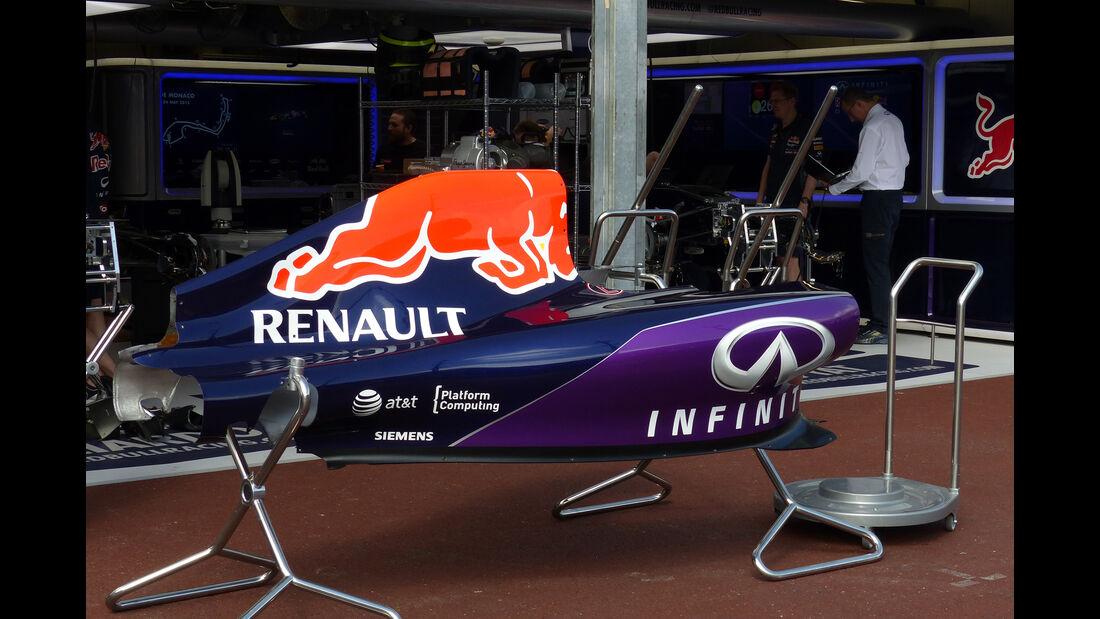 Red Bull  - Formel 1 - GP Monaco - Mittwoch - 20. Mai 2015