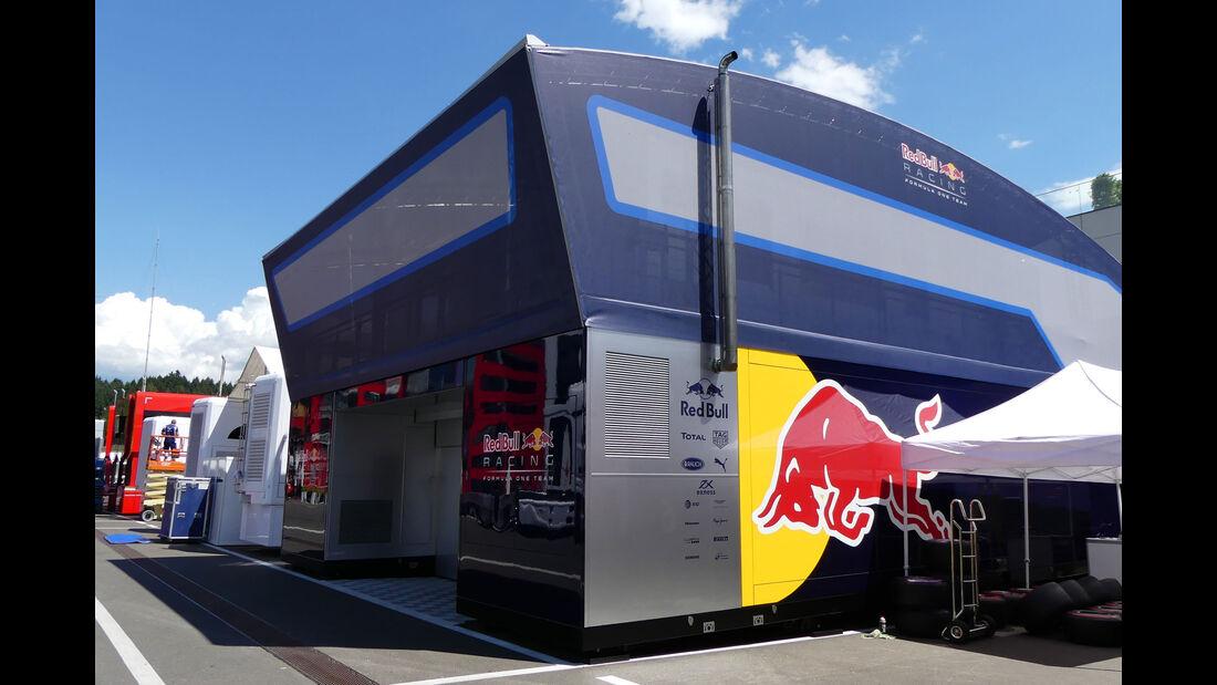 Red Bull - Formel 1 - GP Österreich - 29. Juni 2016
