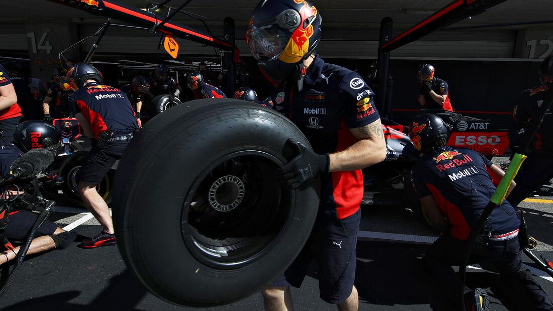 Red Bull - Formel 1 - GP Portugal - Portimao - 23. Oktober 2020
