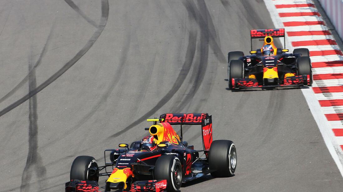 Red Bull - Formel 1 - GP Russland - 1. Mai 2016