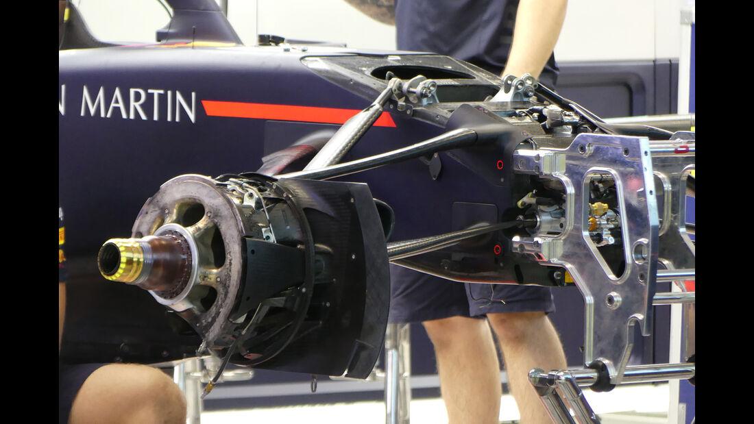 Red Bull - Formel 1 - GP Singapur - 12. September 2018