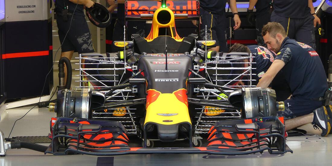 Red Bull - Formel 1 - GP Singapur - 16. September 2016
