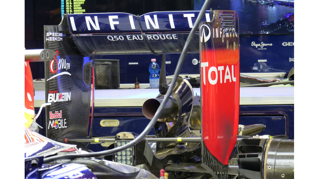 Red Bull - Formel 1 - GP Singapur - 19. September 2014