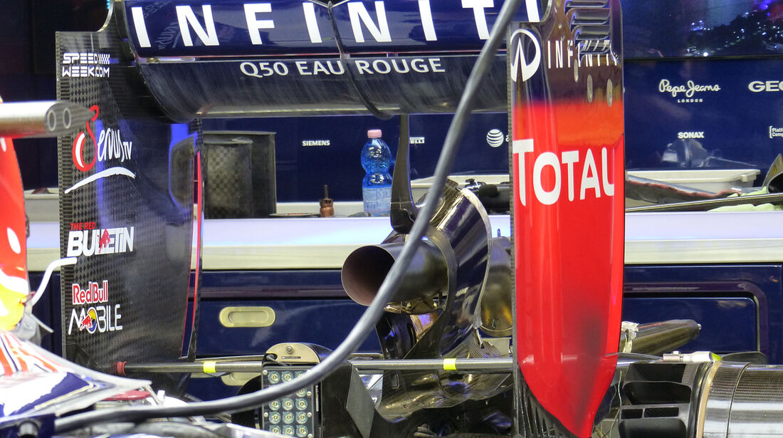 Red Bull - Formel 1 - GP Singapur - 19. September 2014
