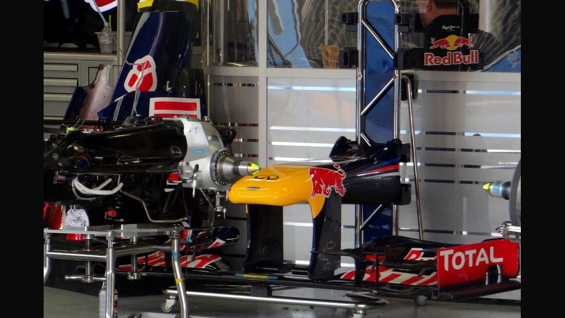 Red Bull - Formel 1 - GP Singapur - 20. September 2012