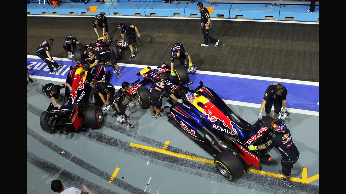 Red Bull - Formel 1 - GP Singapur - 21. September 2012