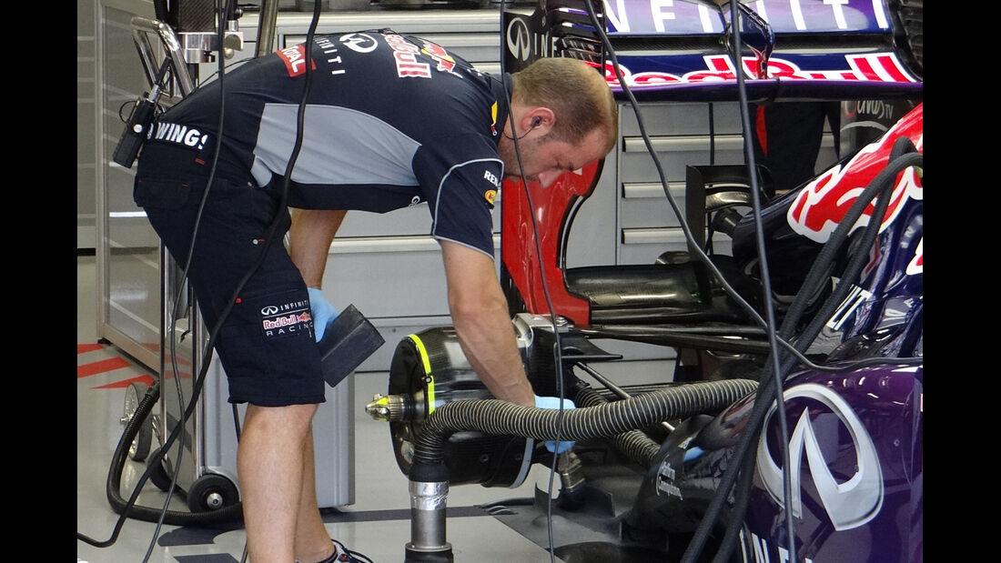 Red Bull - Formel 1 - GP Singapur - 21. September 2013