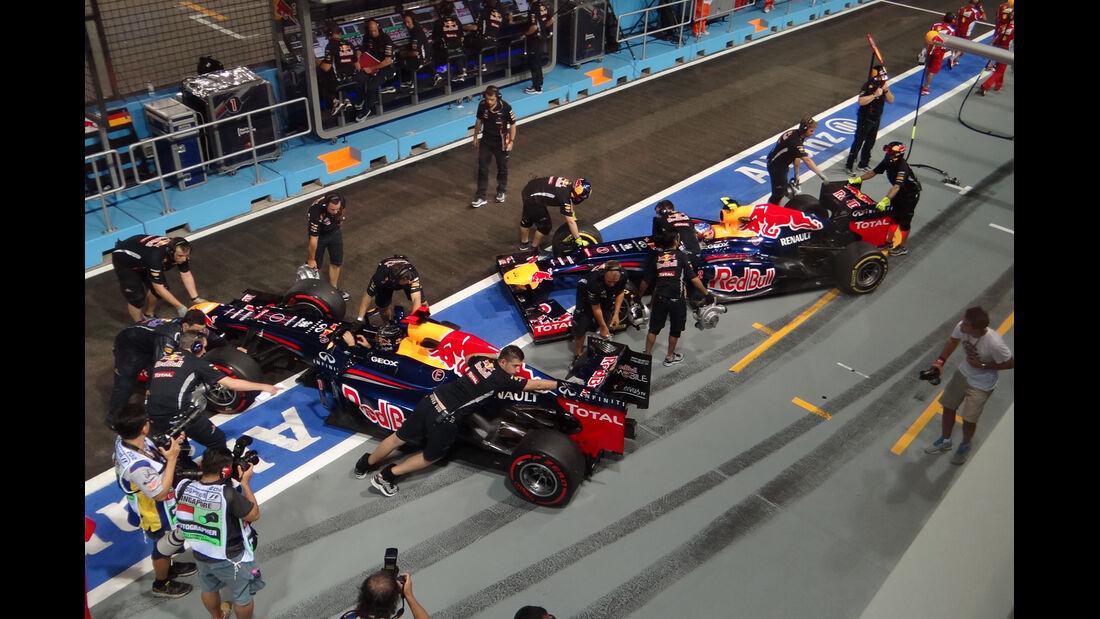 Red Bull - Formel 1 - GP Singapur - 22. September 2012