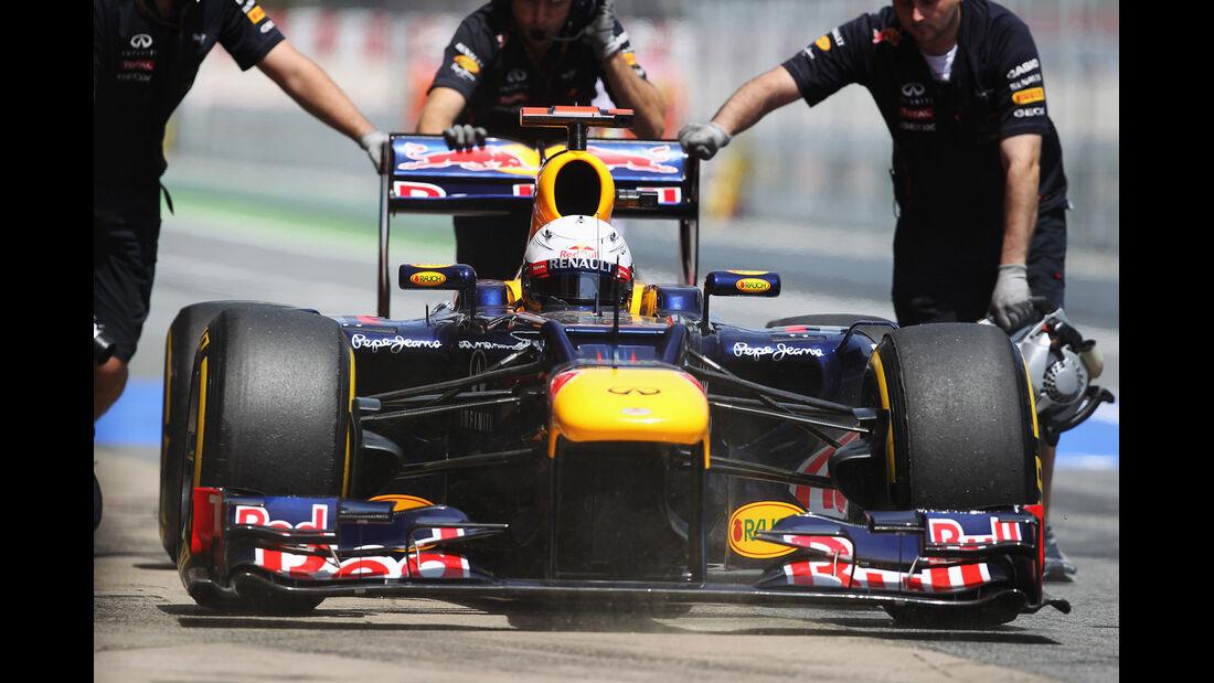 Red Bull Formel 1 GP Spanien 2012