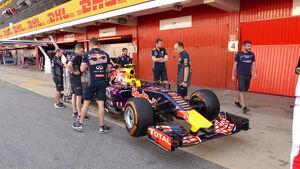 Red Bull - Formel 1 - GP Spanien 2015 - Donnerstag - 7.5.2015