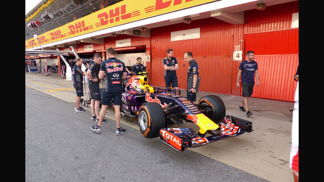 Red Bull - Formel 1 - GP Spanien 2015 - Donnerstag - 7.5.2015