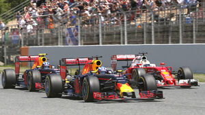 Red Bull - Formel 1 - GP Spanien 2016