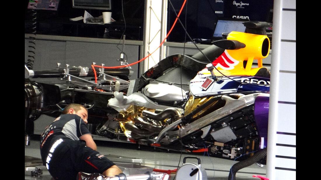 Red Bull - Formel 1 - GP Spanien - 9. Mai 2013