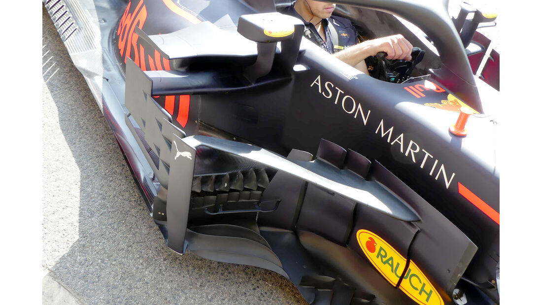 Red Bull - Formel 1 - GP Spanien - Barcelona - 11. Mai 2018