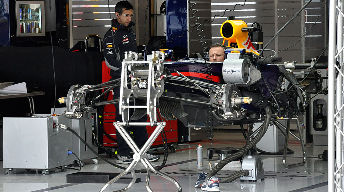 Red Bull - Formel 1 - GP USA - 14. November 2013