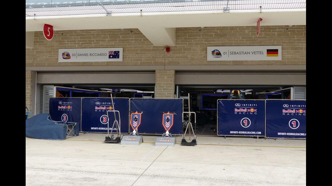 Red Bull - Formel 1 - GP USA - 29. Oktober 2014