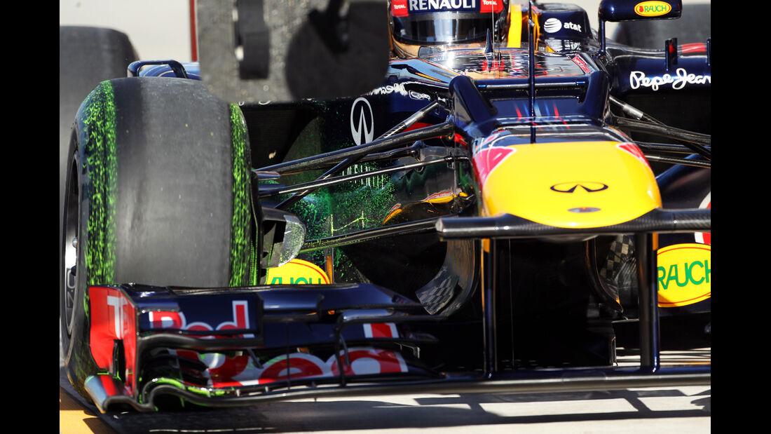 Red Bull - Formel 1 - GP USA - Austin - 17. November 2012