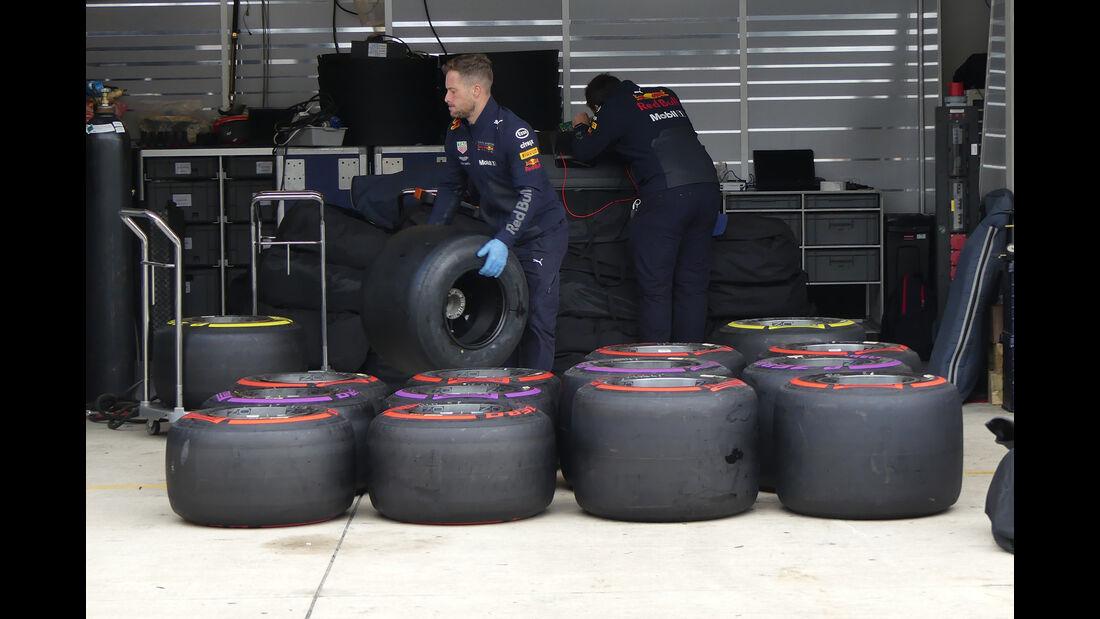 Red Bull - Formel 1 - GP USA - Austin  - 17. Oktober 2018