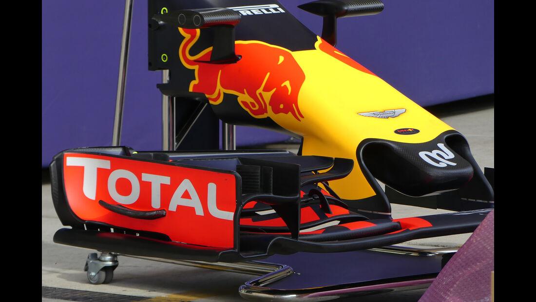 Red Bull - Formel 1 - GP USA - Austin - 19. Oktober 2016