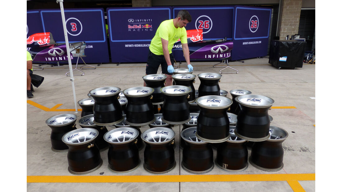 Red Bull - Formel 1 - GP USA - Austin - 21. Oktober 2015