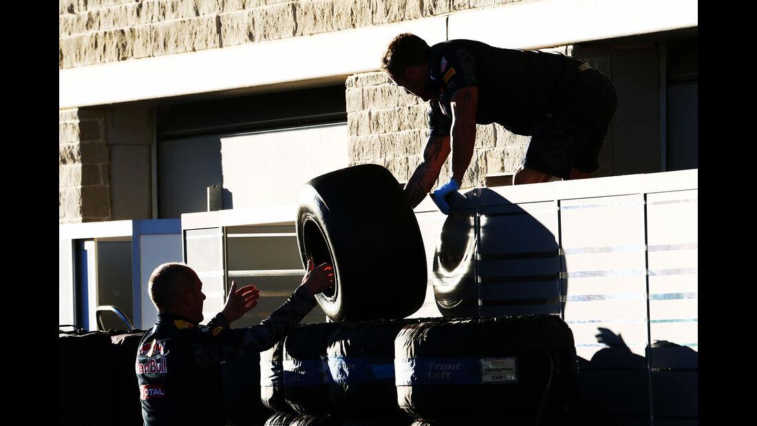 Red Bull - Formel 1 - GP USA - Austin - 21. Oktober 2016