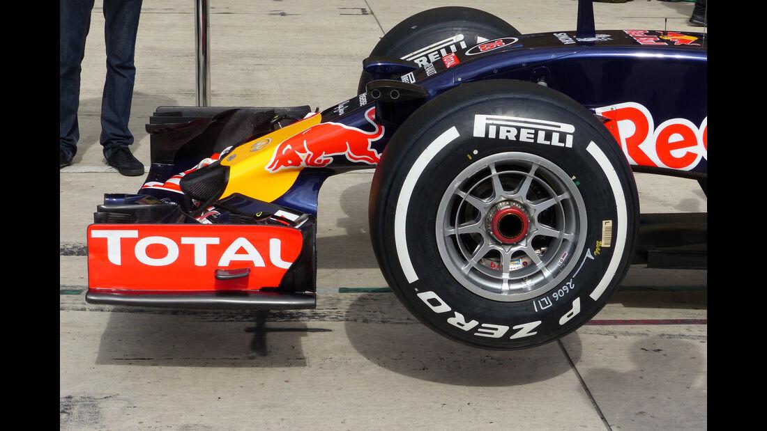 Red Bull - Formel 1 - GP USA - Austin - 22. Oktober 2015