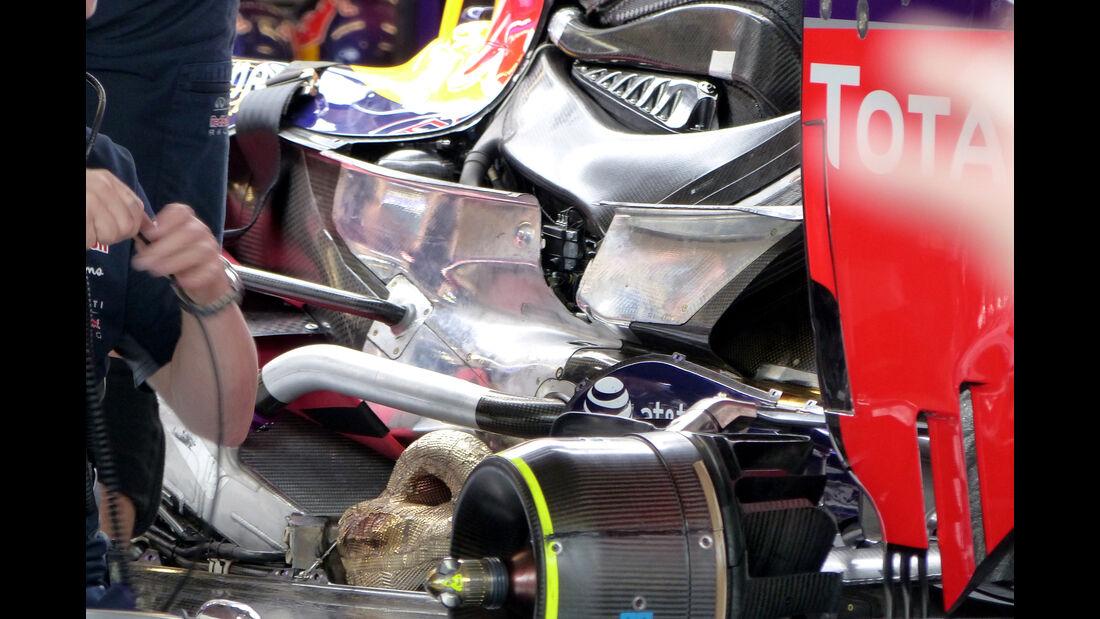 Red Bull - Formel 1 - GP USA - Austin - 23. Oktober 2015