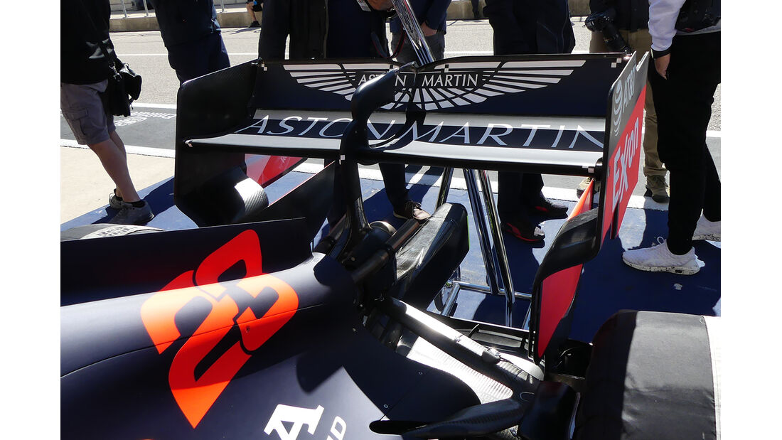 Red Bull - Formel 1 - GP USA - Austin - 31. Oktober 2019