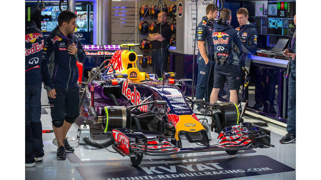 Red Bull - Formel 1 - GP USA - Austin - Formel 1 - 24. Oktober 2015