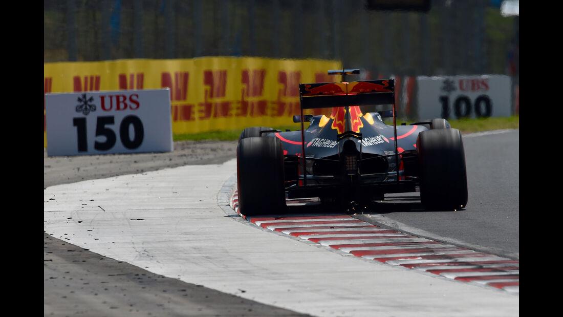 Red Bull - Formel 1 - GP Ungarn - 23. Juli 2016