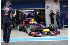 Red Bull - Formel 1 - Jerez-Test 2014