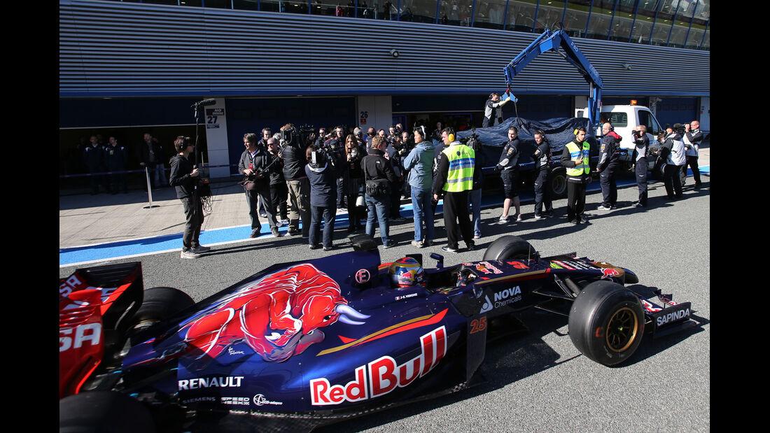Red Bull - Formel 1 - Jerez - Test - 30. Januar