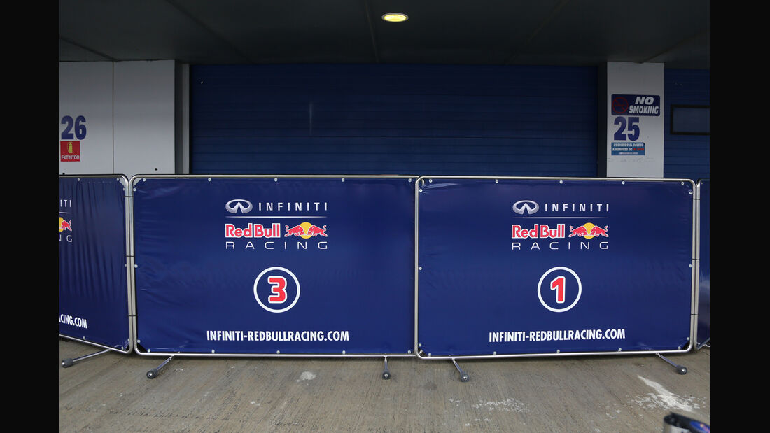 Red Bull - Formel 1 - Jerez - Test - 30. Januar 2014