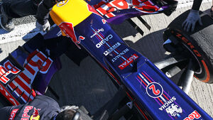 Red Bull Formel 1 Technik 2013