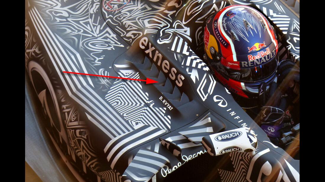 Red Bull - Formel 1-Technik - Barcelona-Test 2 - F1 2015