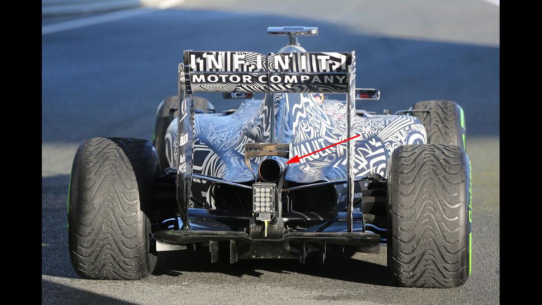 Red Bull - Formel 1-Technik - F1-Test - Jerez - 2015