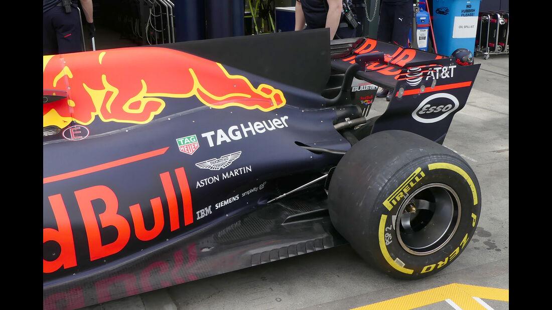 Red Bull - Formel 1 - Technik - GP Australien 2017
