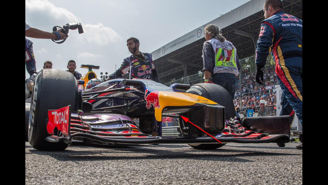 Red Bull - Formel 1 - Technik - GP Singapur 2014