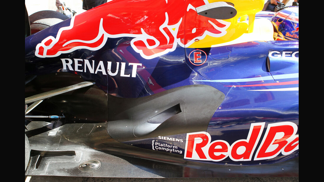Red Bull Formel 1 Technik GP Spanien 2012