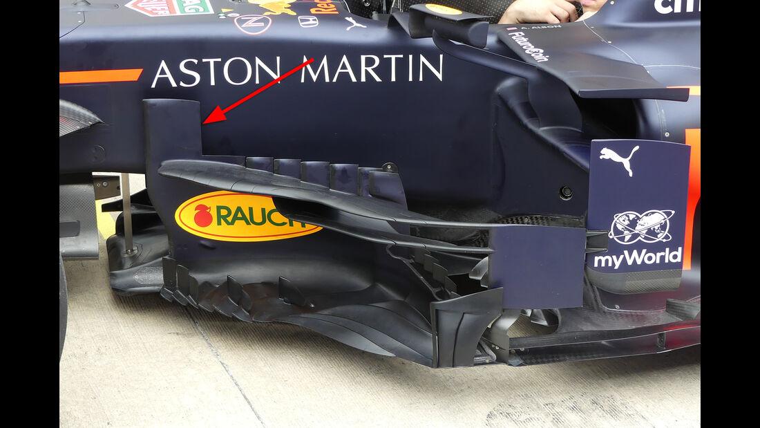 Red Bull - Formel 1 -Technik-Updates - 2019